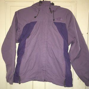North Face coat, purple & lavender - size small